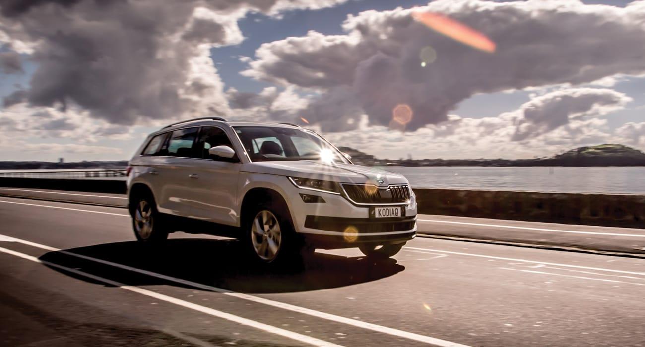 kodiaq-driving