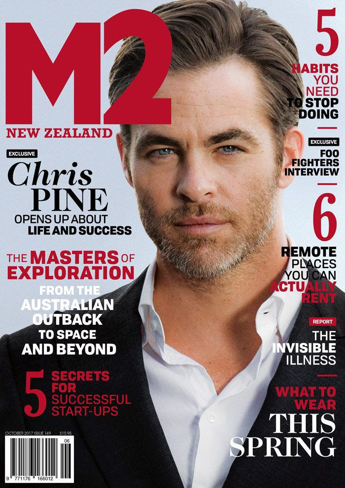 Chris-Pine-M2magazine-cover