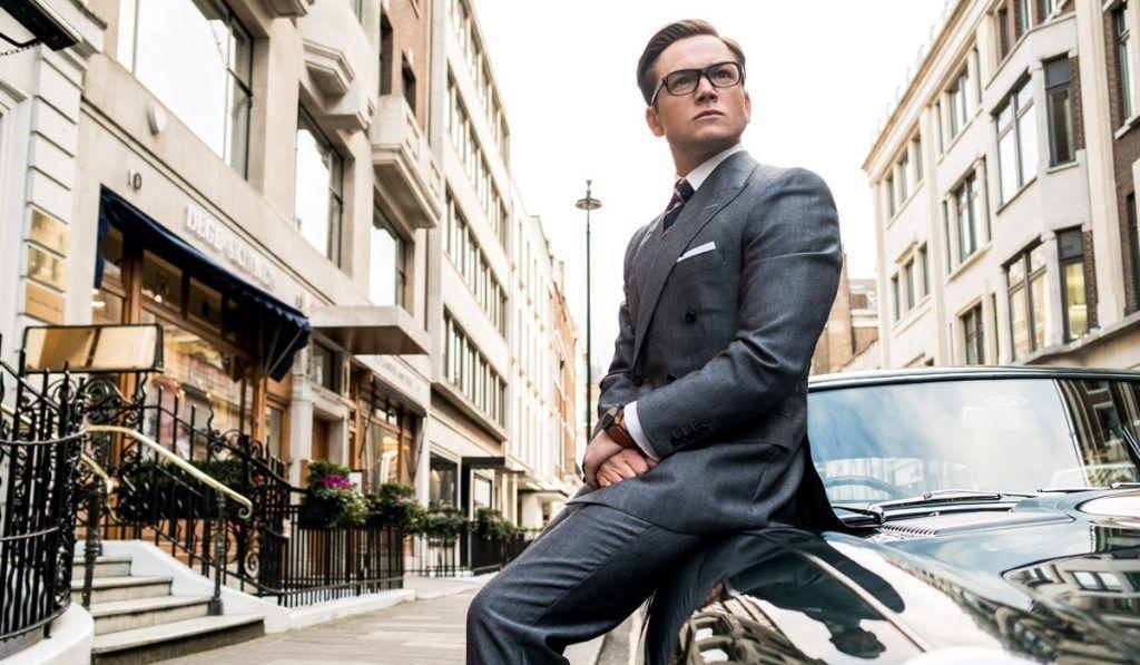 Taron-Egerton-Kingsman-classy-car-movie
