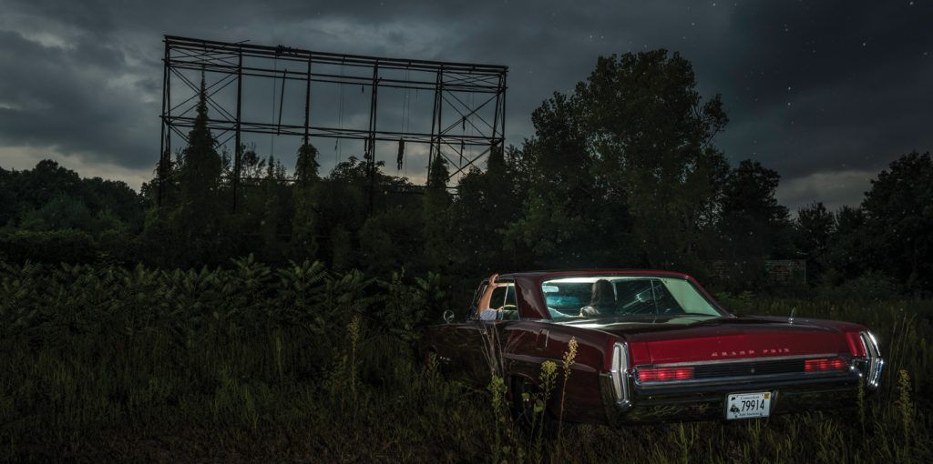 Abandoned-East-Hartford-Drive-In-located-in-South-Windsor,-Connecticut