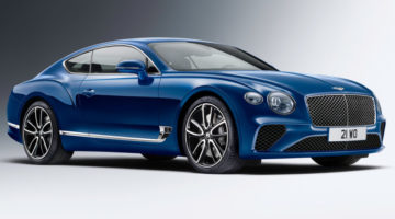 Continental-GT-three-quarter-view-blue
