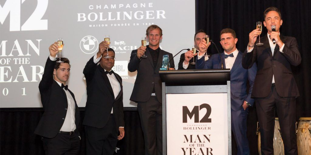 man of the year M2 Magazine